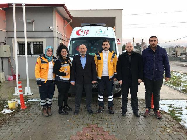 112 ACİLE 4X4 AMBULANS